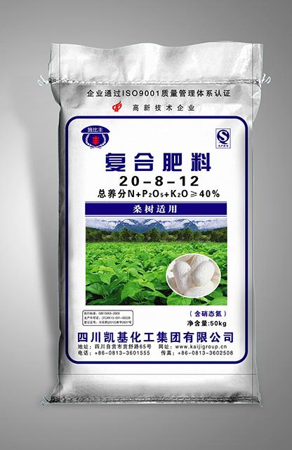 50kg复混肥料桑树适用